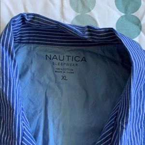 Brand new Nautica brand, short sleeve button up